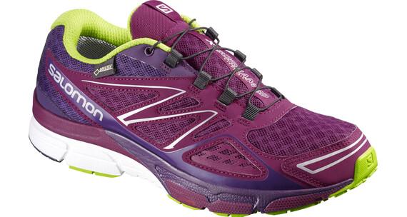 Salomon X-Scream 3D GTX - Chaussures de running Femme - rose/violet